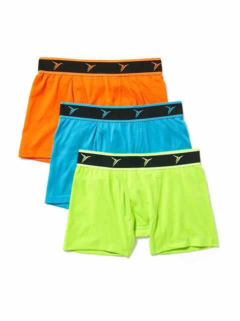 bd2f4468e5ac Go-Dry Boxer Briefs 3-Pack for Boys