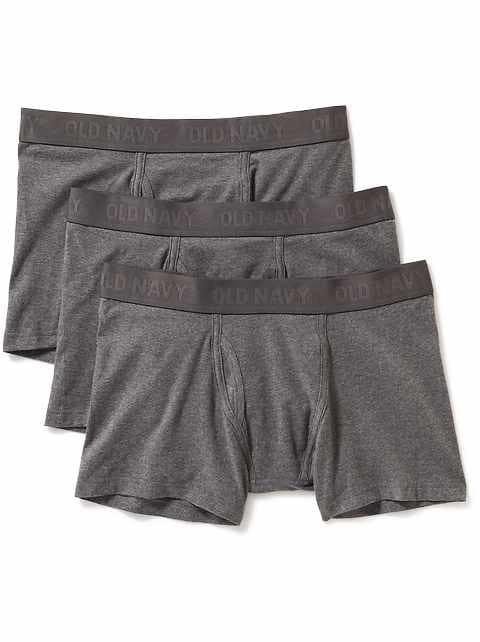 Oldnavy Soft-Washed Built-In Flex Boxer Briefs 3-Pack for Men