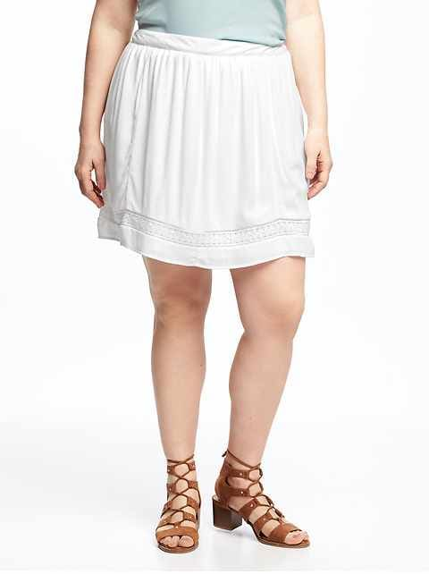 6d29a9f923bea Women's Plus: Skirts Clearance | Old Navy