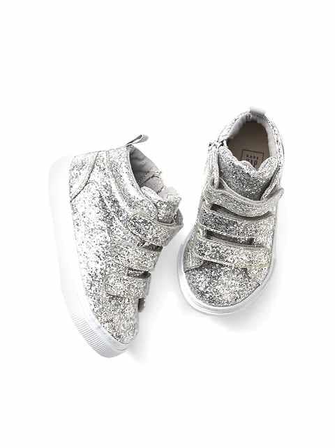 4e2825881562 Toddler Glitter Hi-Top Sneakers