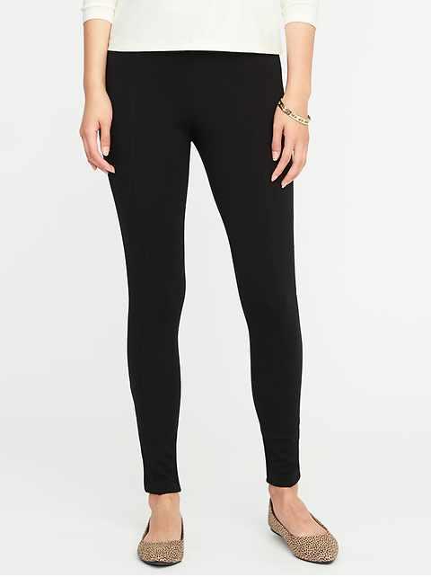 03593d1caeb63a High-Rise Stevie Ponte-Knit Pants for Women