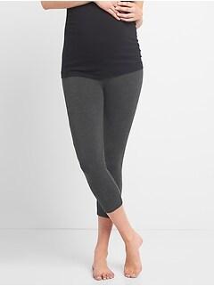 e9575fd193438 Maternity Pure Body Low Rise Capri Leggings