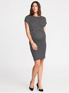 Maternity Dolman-Sleeve Bodycon Dress 1b2bd3007