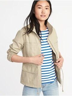 23b8627497c Twill Field Jacket for Women