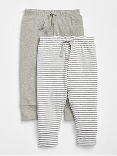 First Favorite Stripe Knit Pants (2-Pack) 2a9da637c