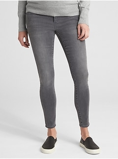 908c6e6a67e3e Maternity Soft Wear Full Panel True Skinny Jeans