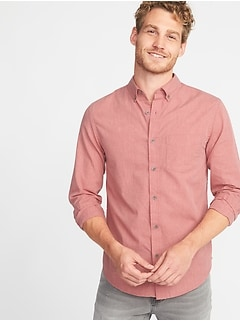 men s casual button up shirts old navy