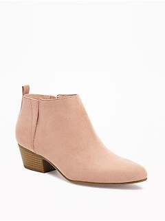 Sueded Ankle Boots for Women 71c9b7219c84