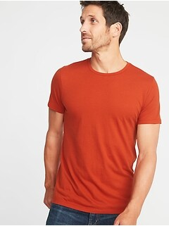Mens clothes soft washed crew neck tee for men publicscrutiny Choice Image