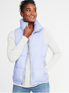 Frost-Free Puffer Vest for Women