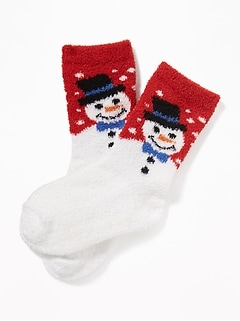 graphic cozy socks for toddler baby