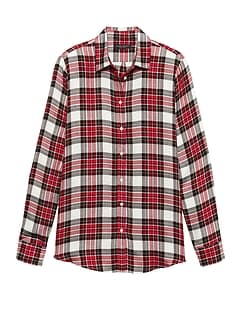 Dillon Classic-Fit Tartan Plaid Flannel Shirt