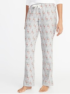 916dcb4715 Patterned Flannel Sleep Pants for Women