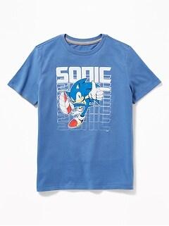 Sonic the Hedgehog  153 Tee for Boys 95010556e5e8f