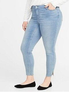 2a07fc27fac High-Rise Built-In Warm Rockstar Super Skinny Plus-Size Jeans