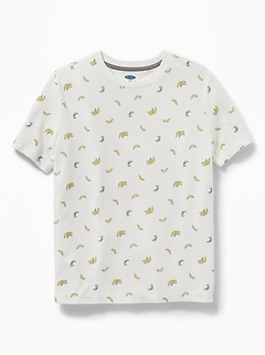 082863bb Softest Printed Crew-Neck Tee for Boys