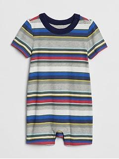 5348df95bee Baby Stripe Shorty One-Piece