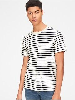 eaaeeae8 Stripe Pocket T-Shirt