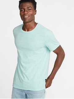 87425c42a Soft-Washed Crew-Neck Tee for Men