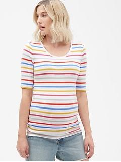 6b7fdb00bc7e7 Maternity Modern Scoopneck T-Shirt