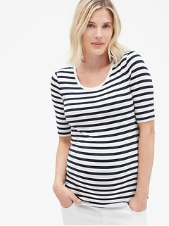 d6c0c628e5f61 Maternity Modern Scoopneck T-Shirt