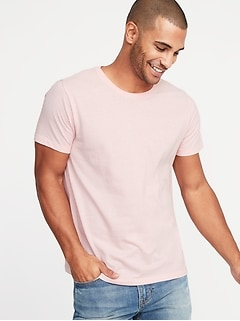 4a7ae87d89 Soft-Washed Perfect-Fit Crew-Neck Tee for Men