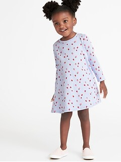 3b720986e Sweatshirt Swing Dress for Toddler Girls