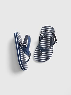 ff0837b9ecb5 sandals. Stripe Glitter Flip Flops