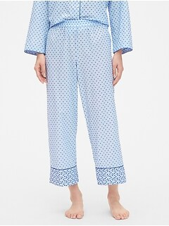 Dreamwell Mix-Fabric Pants in Swiss Dot 01df594d3