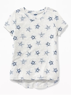 8e2c5a7c008a7d Softest Crew-Neck Tee for Girls