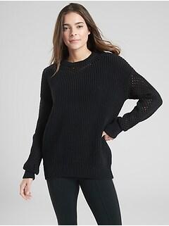 Mesh Volume Sleeve Sweater eeeda4995