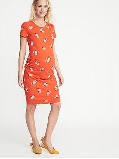 6b456d250d Maternity Jersey Bodycon Dress