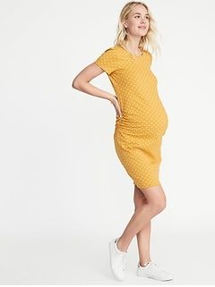 a459d86ad24 Maternity Jersey Bodycon Dress
