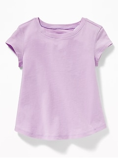 0824c40c Soft-Washed Crew-Neck Tee for Toddler & Baby