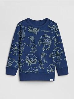 92484ec5 Toddler Graphic Print Sweatshirt