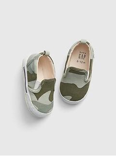 6edf7ba4d Baby Camo Slip-On Sneakers
