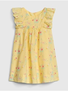 1fb8c47bf422c Print Cascade Ruffle Dress
