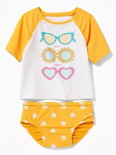 bf2988c6 Baby Girl Swimwear & Bathing Suits | Old Navy