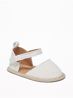 9ddb5632d156 Eyelet D Orsay Espadrilles for Baby