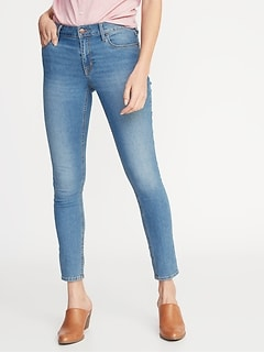 Mid-Rise Super Skinny Ankle Jeans for Women 9a956d8c0dd
