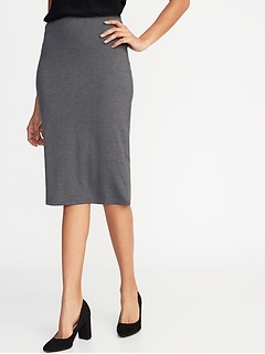 a510b3776 Jersey-Knit Midi Pencil Skirt for Women