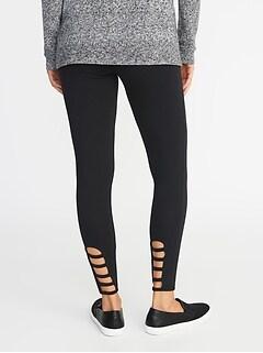 Black And Leopard Print Leggings Clothes, Shoes & Accessories Size 8 Discounts Price Leggings