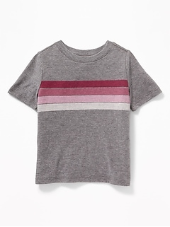 d8732c54a Chest-Stripe Crew-Neck Tee for Toddler Boys