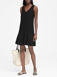 Drop-Waist Shift Dress