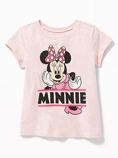 07c382f541703 Disney&#169 Minnie Mouse Tee for Toddler Girls