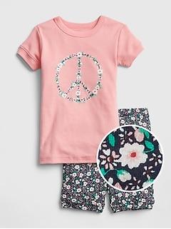 Peace Shorty PJ Set d0e16cc6c