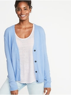 3e1ca5ccdab Slouchy Soft-Brushed V-Neck Cardi for Women
