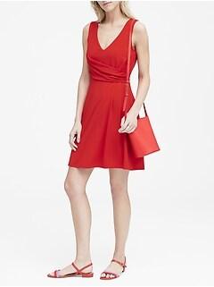 Soft Ponte Twist-Front Dress b8e10f6f4