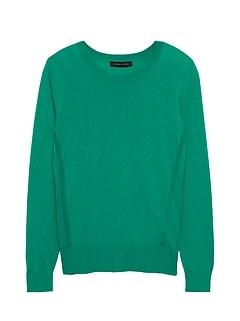 13c59c635c Silk Cotton Crew-Neck Sweater