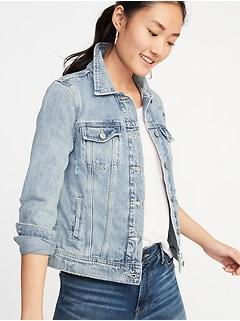 a435d5f7045 Distressed Denim Jacket for Women